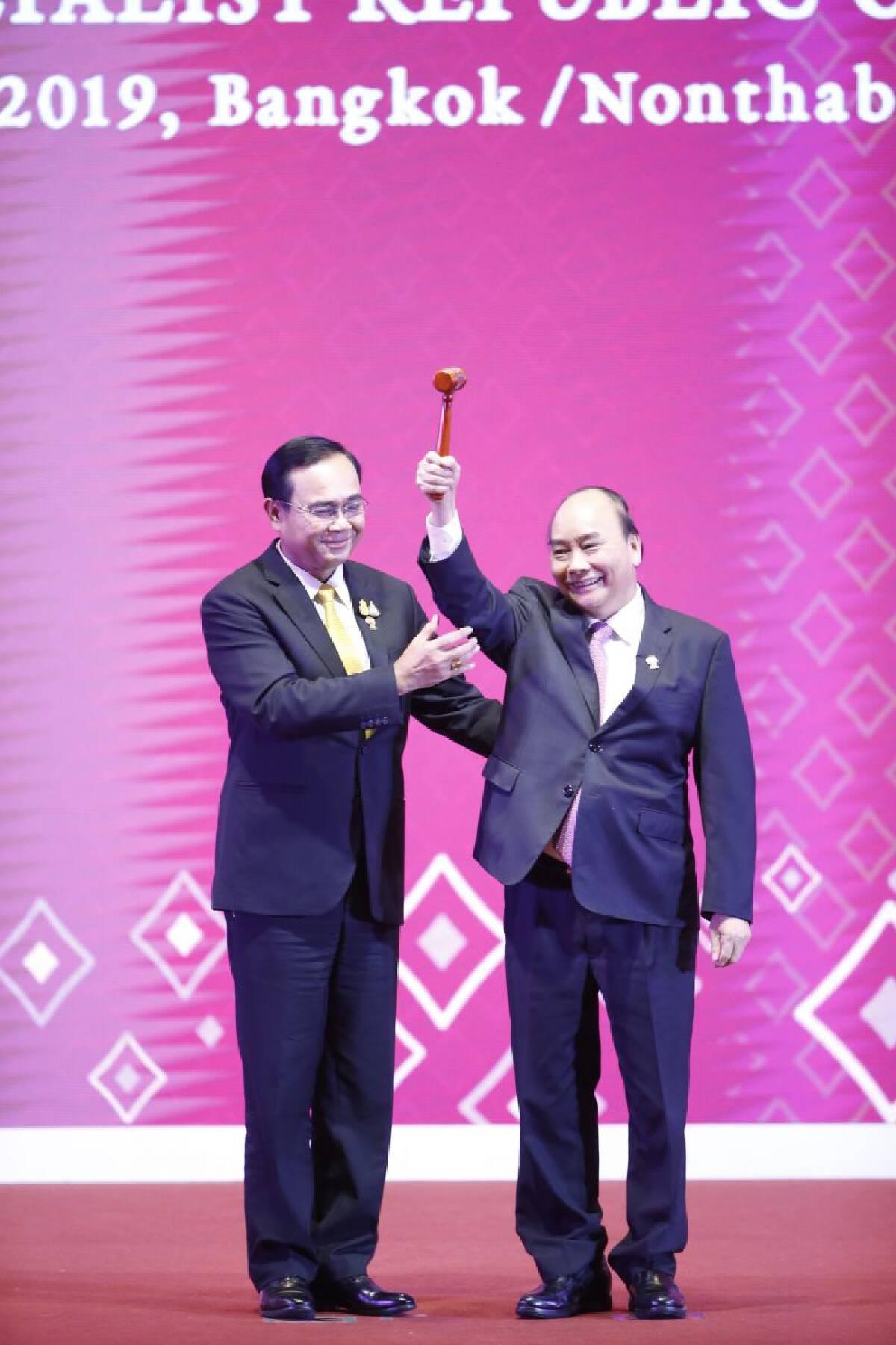 เวียดนามรับไม้ต่อการเป็นประธานอาเซียน 2020
