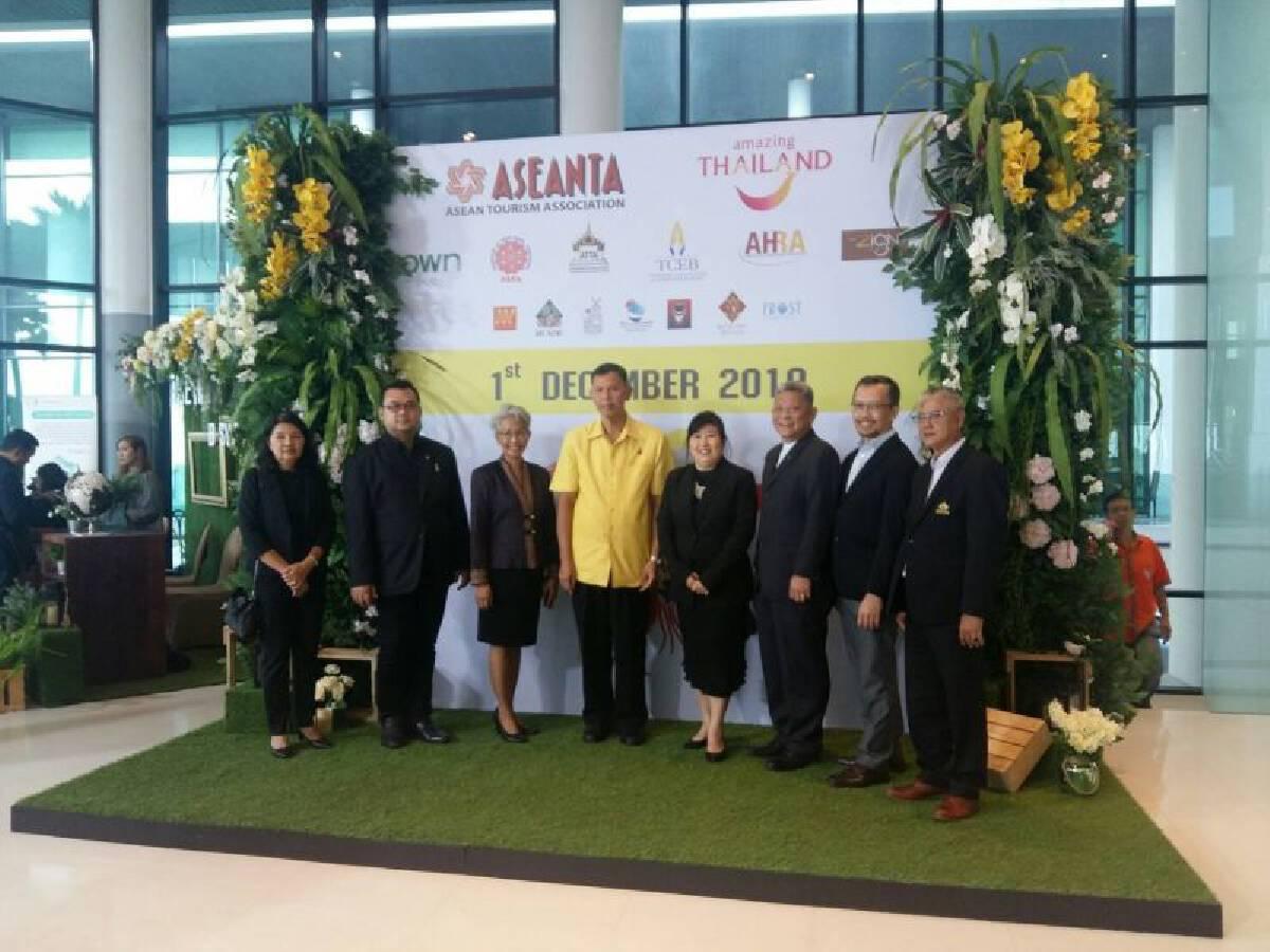 ASEANTA กางแผน  จูงใจ120ล้านทัวริสต์เพิ่มวันเที่ยว