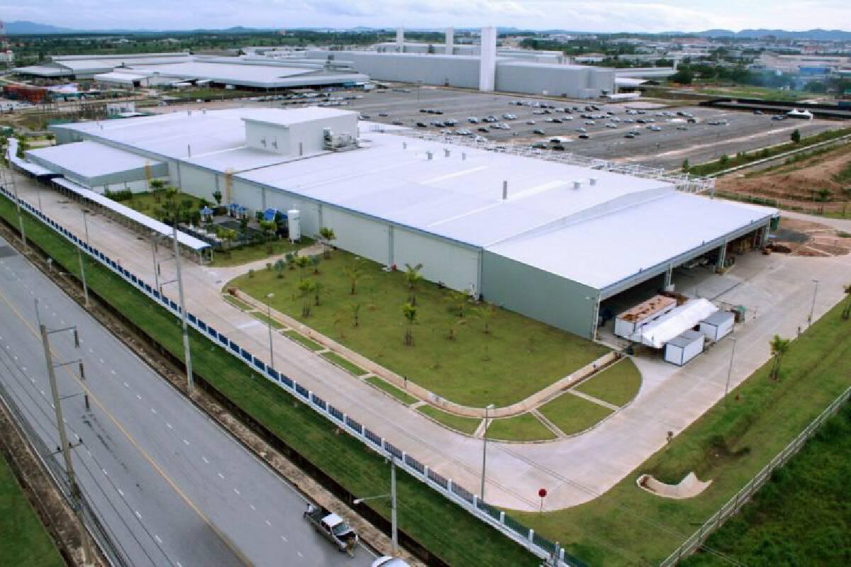 โรงงานผลิตเครื่องยนต์GM ที่จ.ระยอง