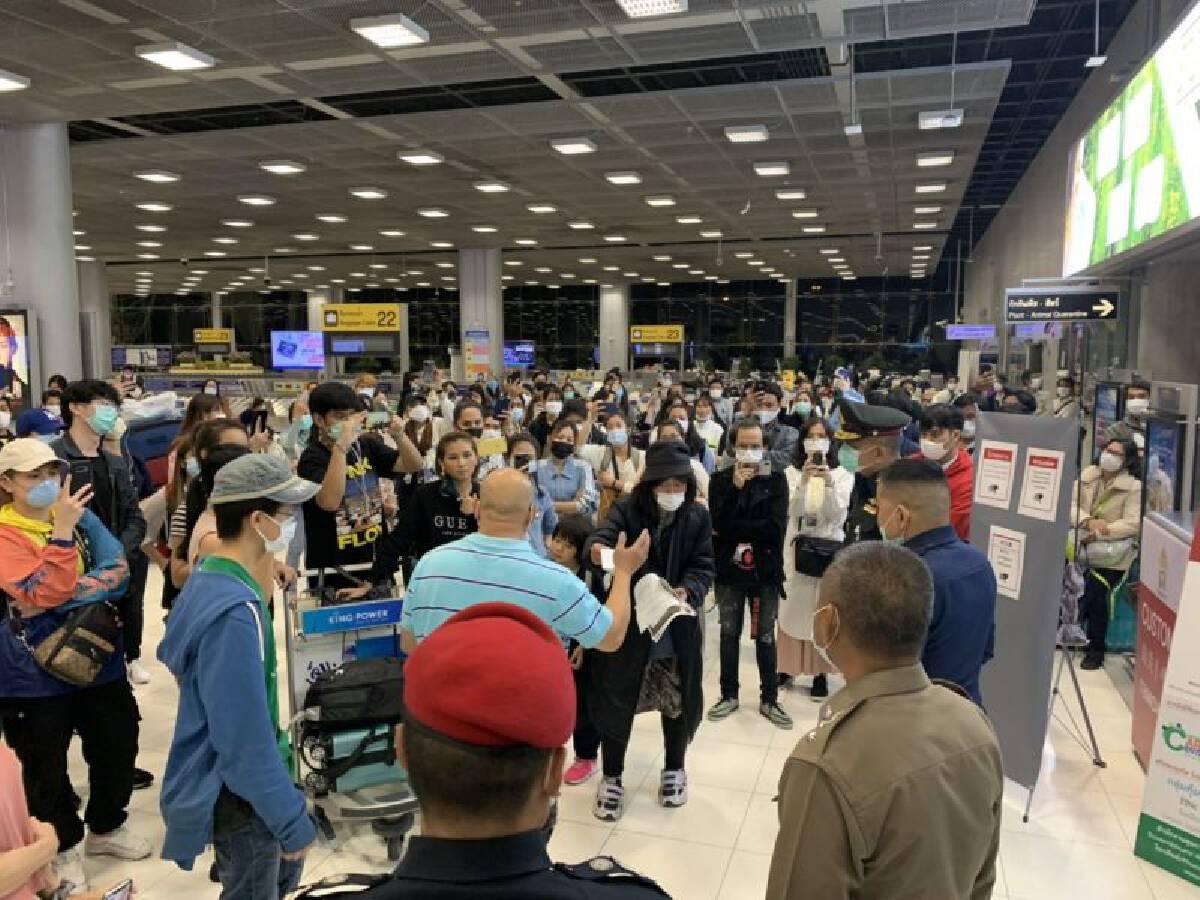 เปิดปฏิบัติการไล่ล่า 152 คนไทยแหกด่านสุวรรณภูมิ