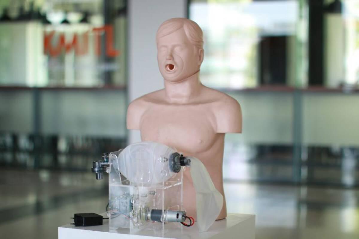 สจล. เตรียมส่งมอบเครื่องช่วยหายใจล็อตแรกแก่กทม. 20 ตัว