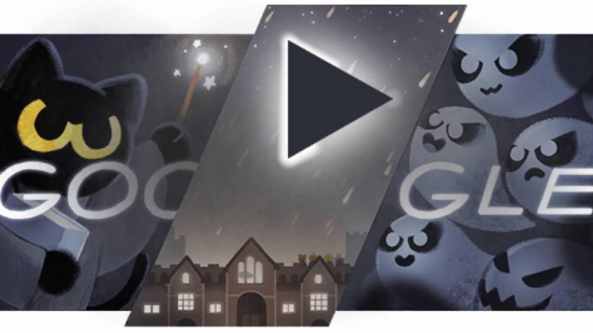 """""""กูเกิล"""" ชวนเล่นเกม-เสิร์ช 3 มิติ รับวันฮาโลวีน"""