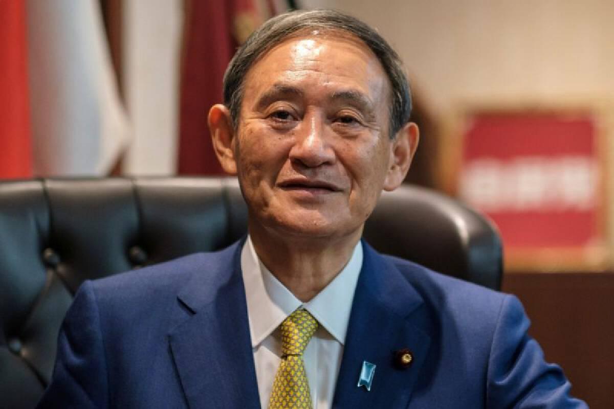 นายโยชิฮิเดะ ซูงะ นายกรัฐมนตรีญี่ปุ่น
