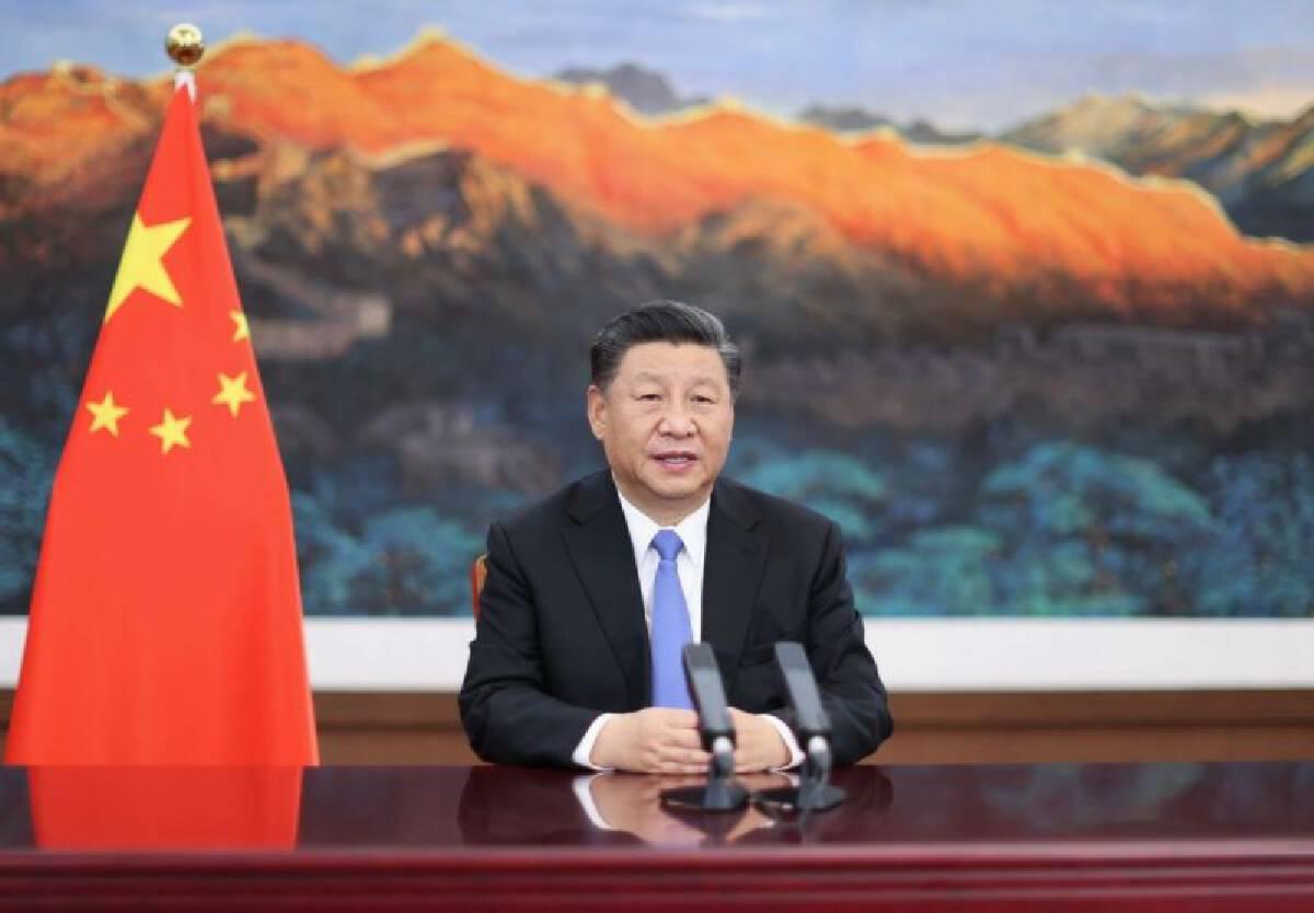 ผู้นำจีนกล่าวสุนทรพจน์ผ่านระบบการประชุมทางไกล