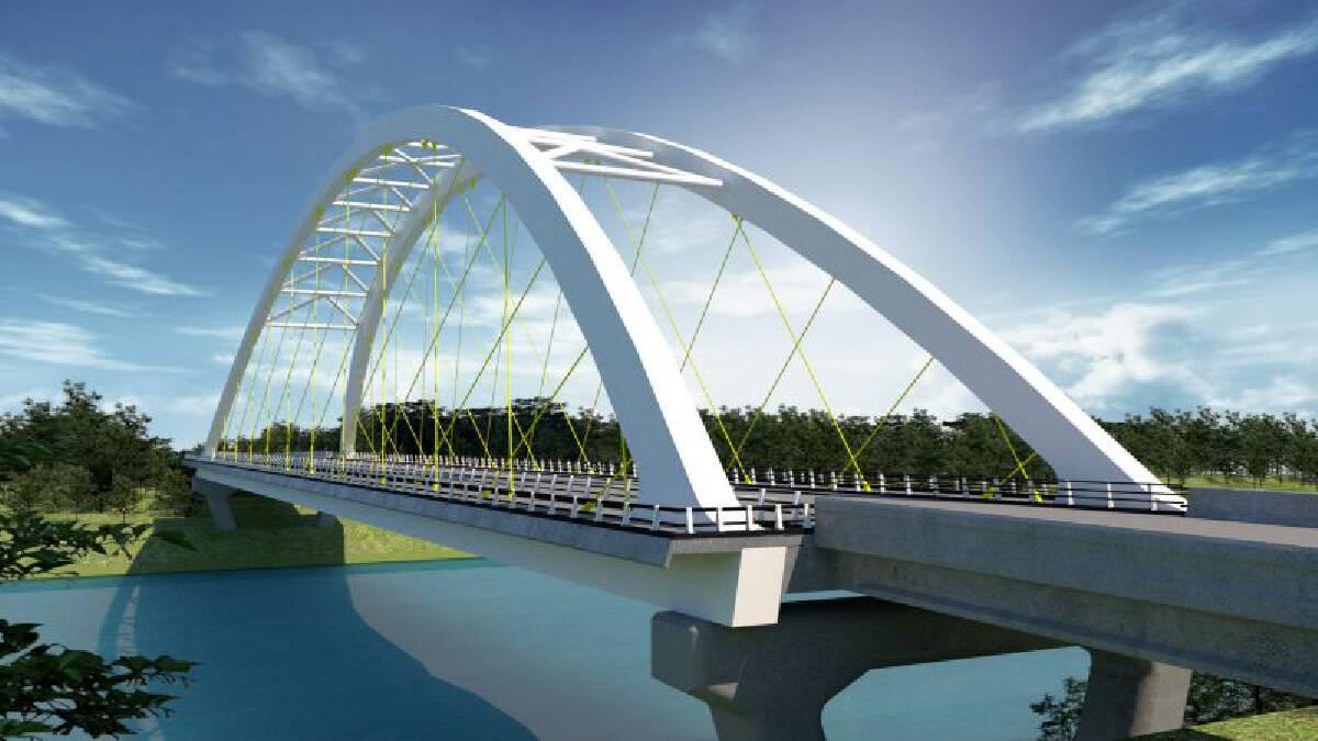 เปิดแบบลุยสร้าง สะพานข้ามเจ้าพระยาแห่งใหม่จังหวัดสิงห์บุรี
