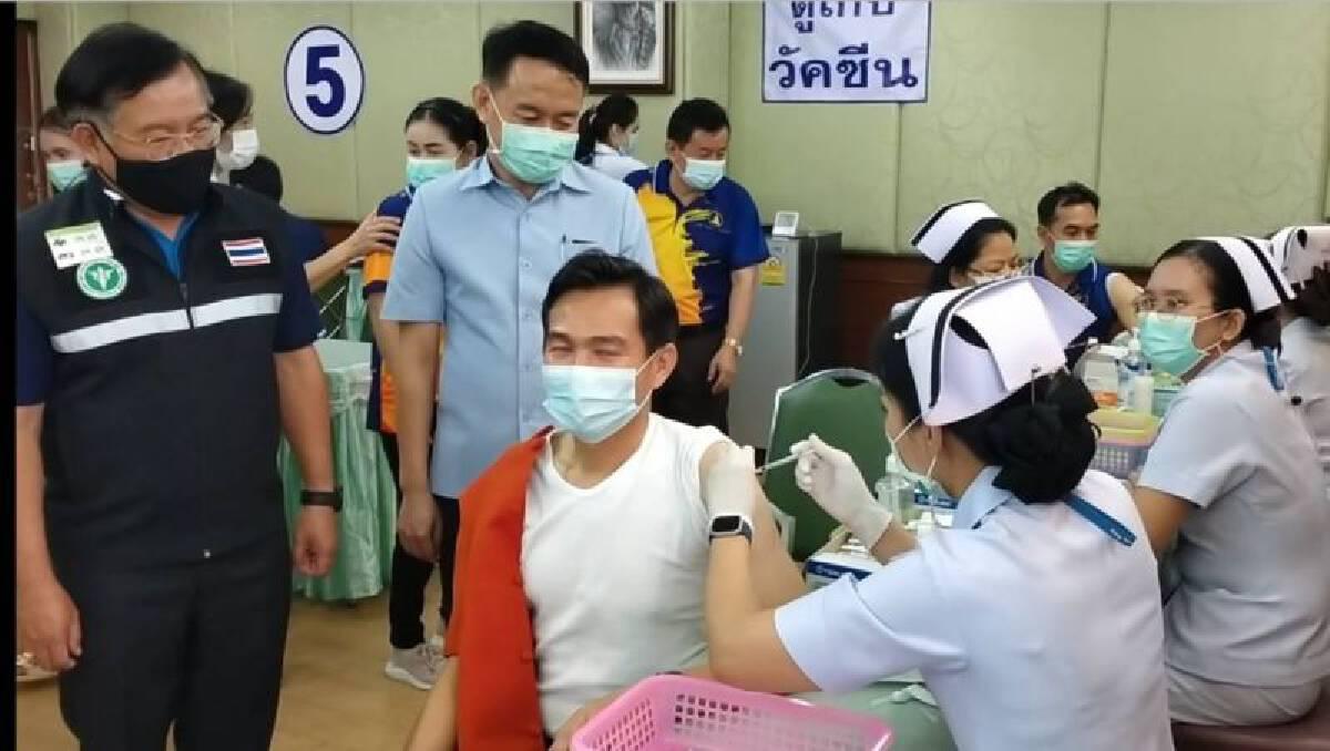 ลพบุรีเป็นอีกจัวหวัดที่เร่งรณรงค์การฉ๊ดวัคซีนให้ครอบคลุมประชากรเพื่อจะเปิดเศรษฐกิจรอบใหม่
