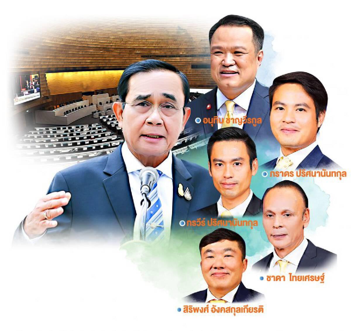 รัฐบาลร้าวหนัก ภูมิใจไทย ขี่คอ'นายกฯ'