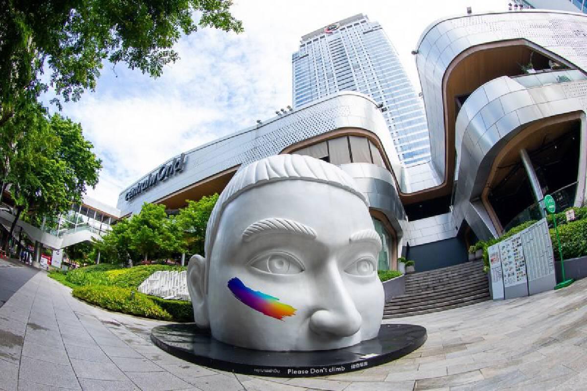เซ็นทรัลเวิลด์ เนรมิตสีรุ้งใจกลางเมือง เปิดกว้างรับ LGBT