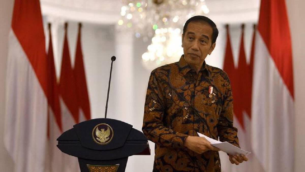 นายโจโก วิโดโด ประธานาธิบดีอินโดนีเซีย