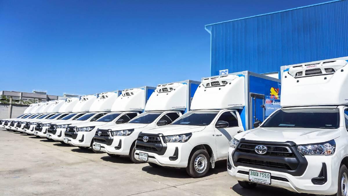 'นิ่มเอ็กซ์เพรส' เพิ่มรถควบคุมอุณหภูมิ 100 คันเสริมทัพ ขนส่ง Cold Chain