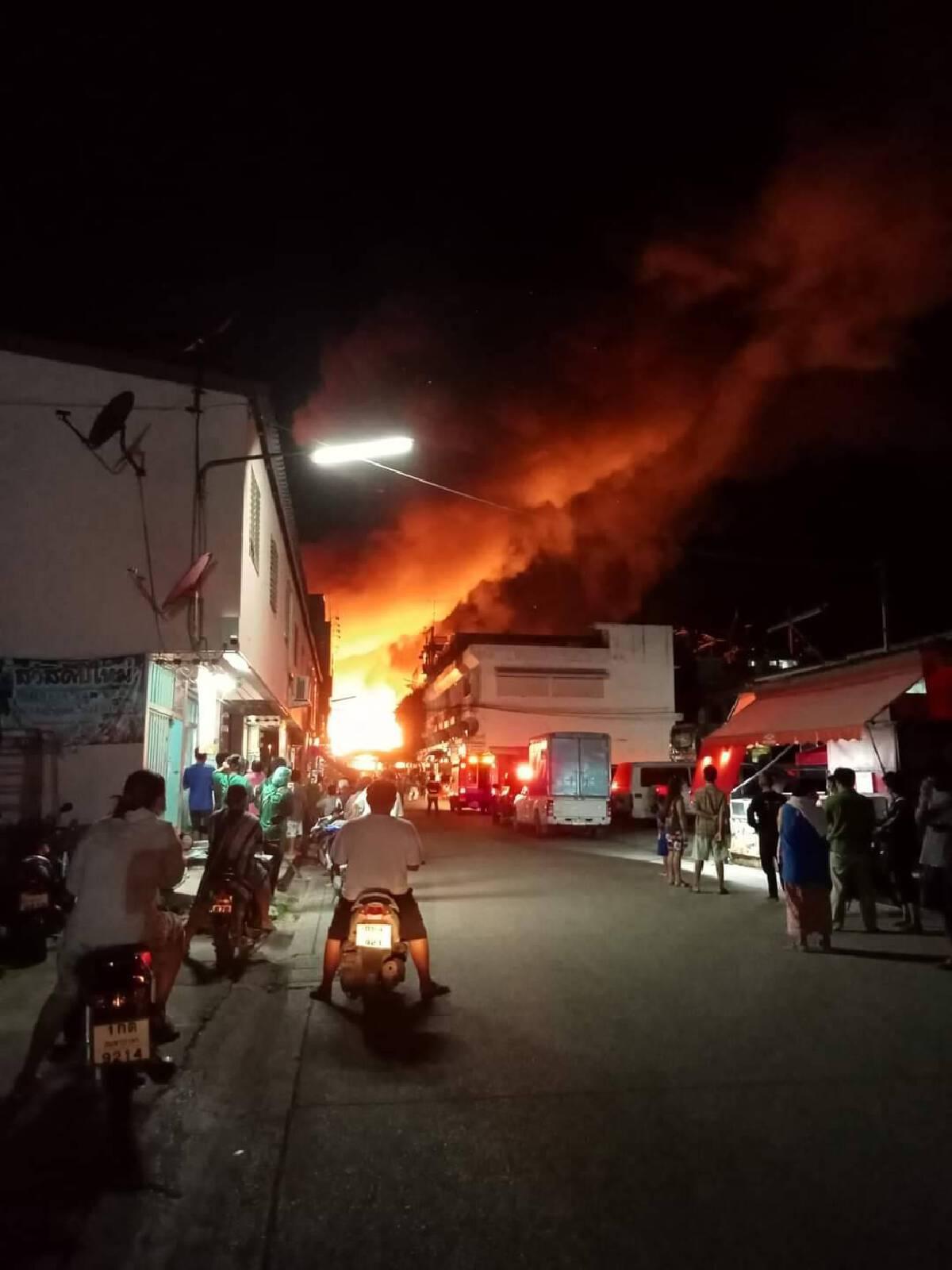 ผู้ว่าสมุทรสาคร เผย ไฟไหม้ ตลาด 100 ปี บ้านแพ้ว สามารถควบคุมเพลิงได้แล้ว