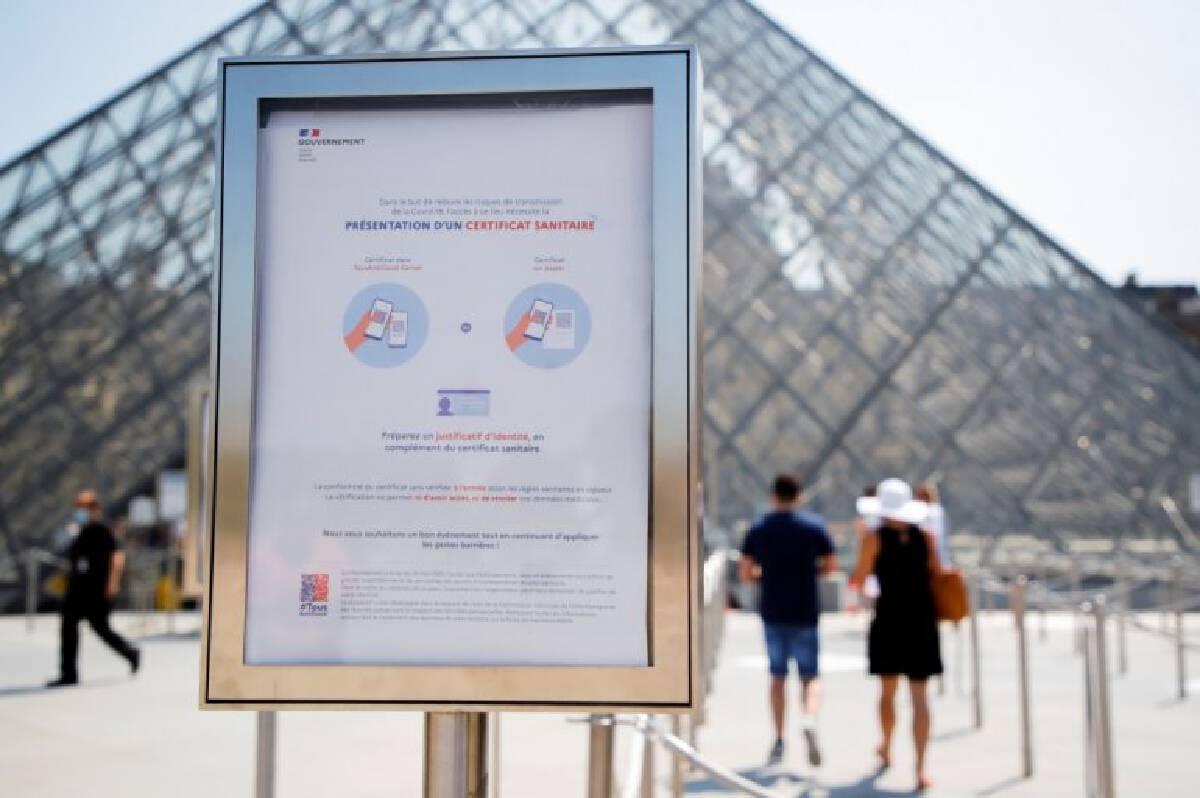 ฝรั่งเศสคุมโควิด หลายสถานที่ตั้งกฎเหล็ก ต้องยื่นผลสุขภาพก่อนให้เข้า