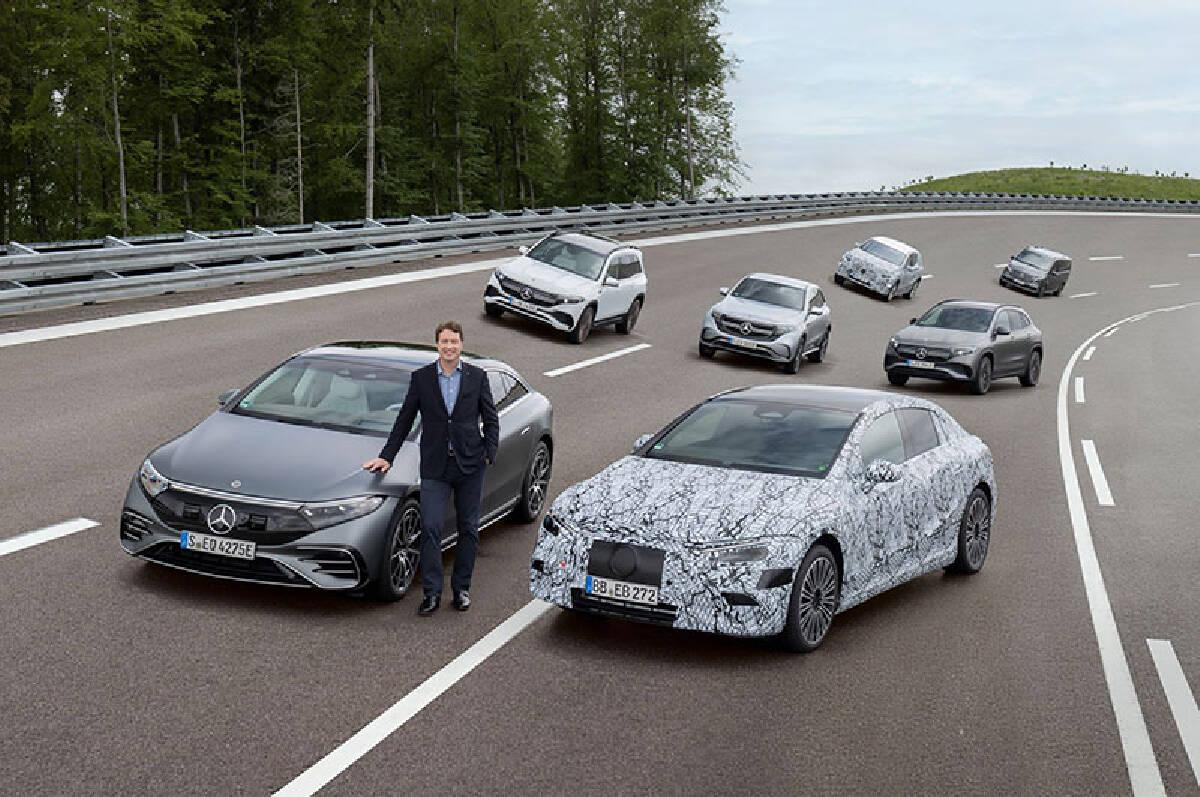 Mercedes EQ ที่ทำตลาดในปัจจุบัน และรุ่นที่กำลังจะเปิดตัวใหม่