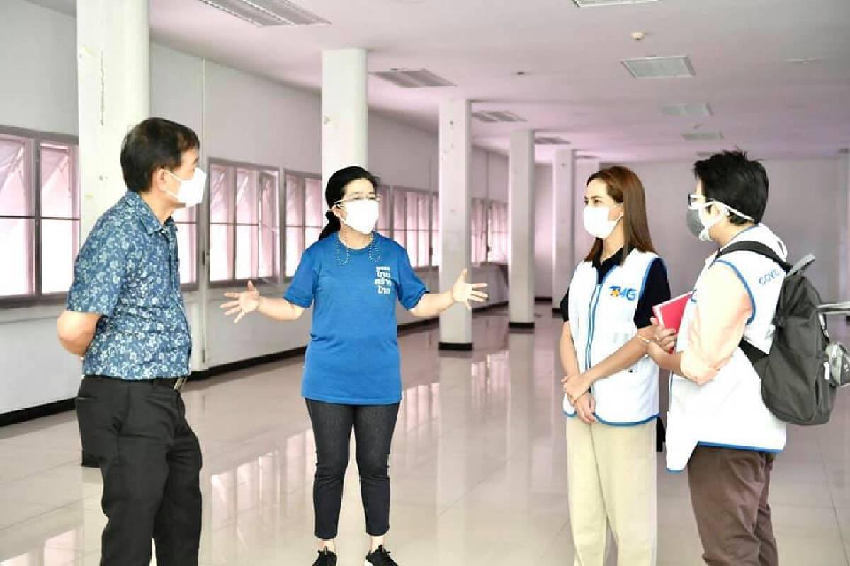 """""""ไทยสร้างไทย""""ผนึก รพ.THG ร่วมเปิด Community isolation ช่วยผู้ป่วยโควิด-19"""