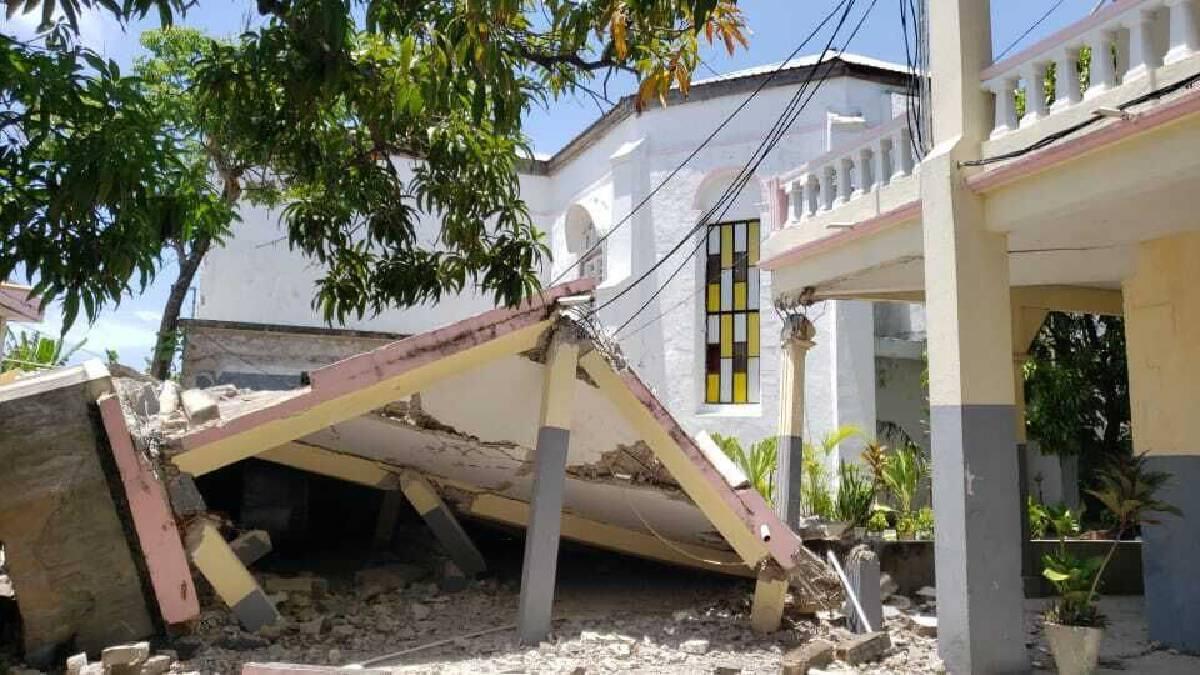 """แผ่นดินไหวขนาด 7.2 เขย่า """"เฮติ"""" ราบ พบผู้เสียชีวิตแล้ว 29 ราย"""