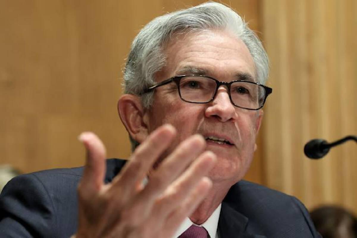 เจอโรม พาวเวลล์ประธานธนาคารกลางสหรัฐ (เฟด)