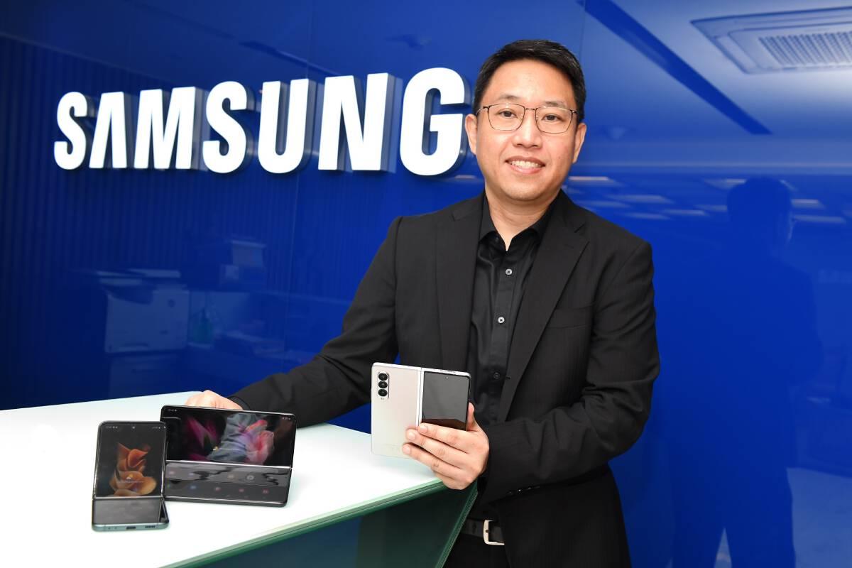 กระแสสมาร์ทโฟนจอพับแรง ยอดจอง Galaxy Z Fold3 | Flip3 5G พุ่ง 8 เท่า
