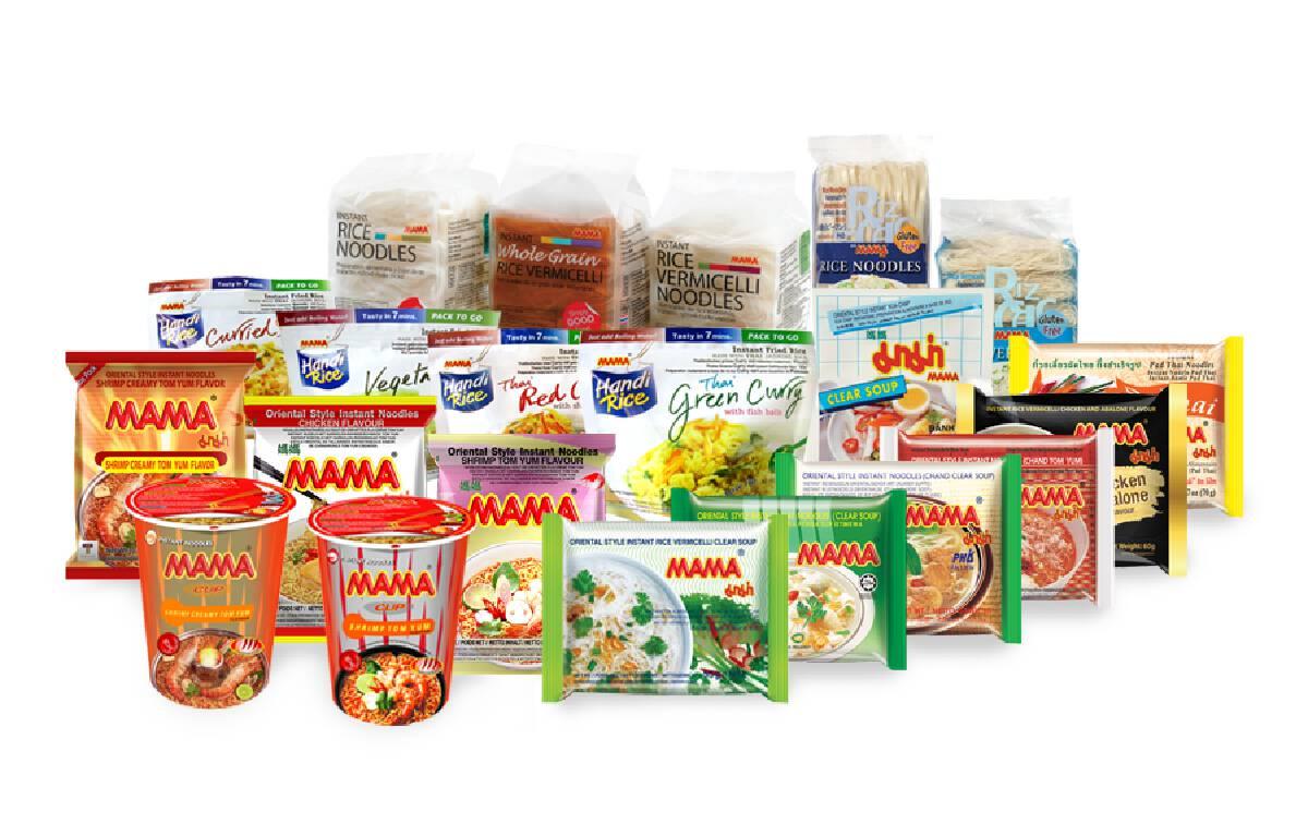 """""""มาม่า"""" บูมตลาดไทย-ต่างประเทศ  ดันยอดขาย 1.43 หมื่นล้าน"""