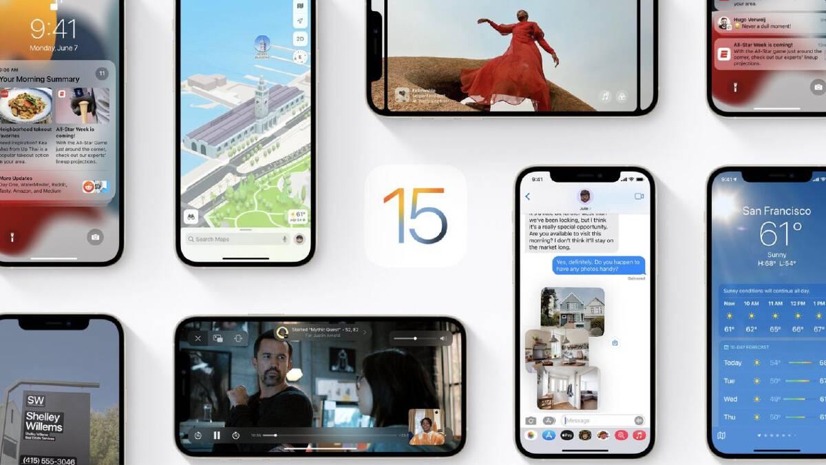 เปิดวาร์ป ระบบปฎิบัติการ  iOS15  มีฟีเจอร์อะไรใหม่