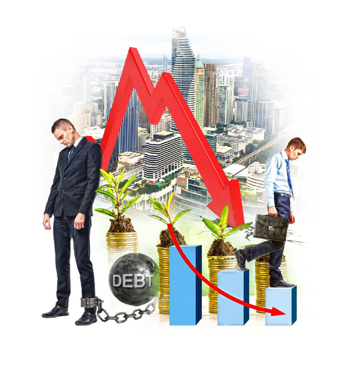 เศรษฐกิจถดถอย กับอัตราดอกเบี้ยตํ่า