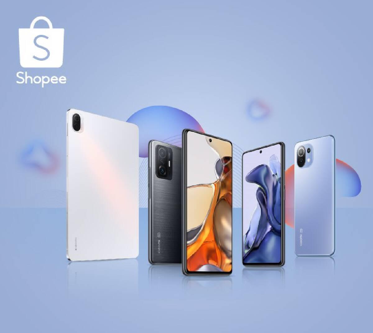 ส่องโปรเด็ดฉลอง เปิดตัว  Xiaomi 11 Series บน Shopee Mall
