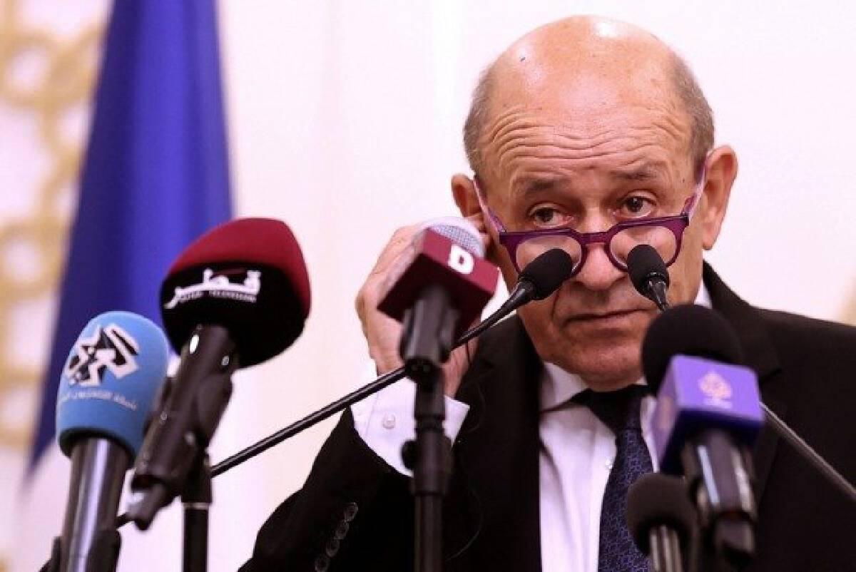 ฌอง-อีฟว์ เลอ ดริยอง รัฐมนตรีต่างประเทศฝรั่งเศส