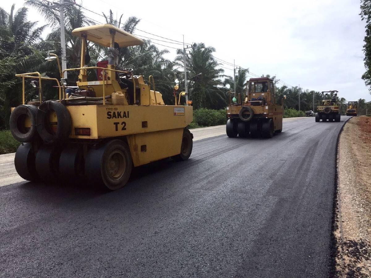 สร้างถนนสายแยก ทล.4003 – บ้านท้องเกร็ง บูมไทยแลนด์ริเวียร่า