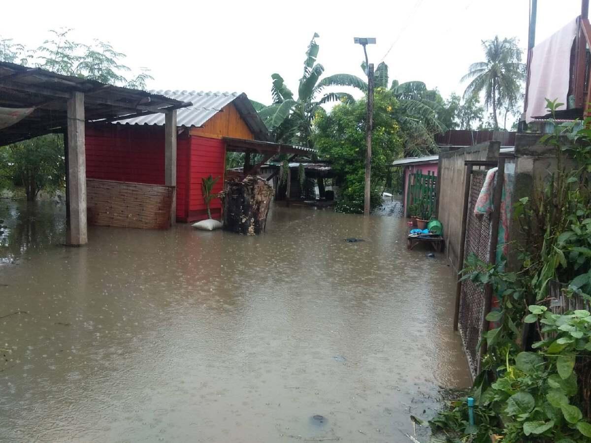 """หลายพื้นที่เริ่มคลี่คลายอุทกภัยจากอิทธิพลพายุ """"เตี้ยนหมู่"""""""
