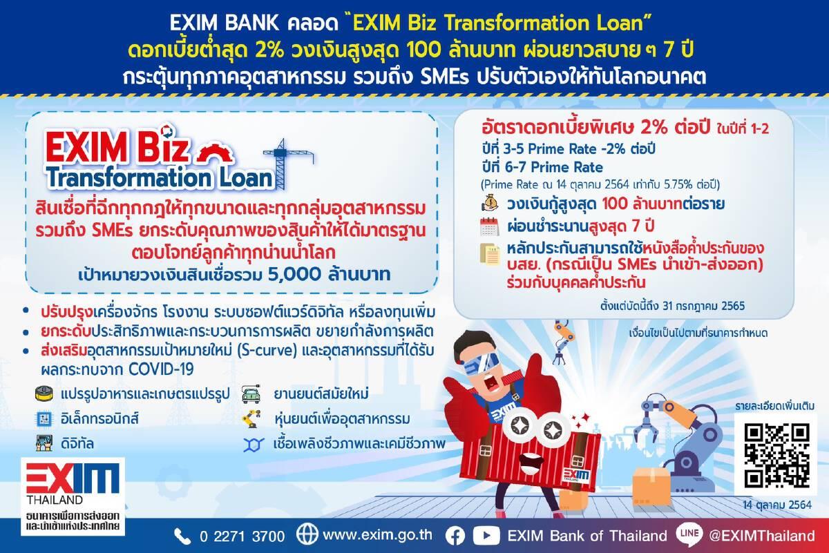 EXIM Biz Transformation Loan