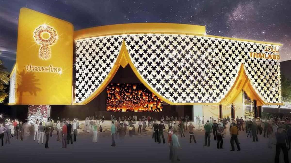 กินอาหารไทยต้องเข้าคิว ในWorld Expo 2020 Dubai