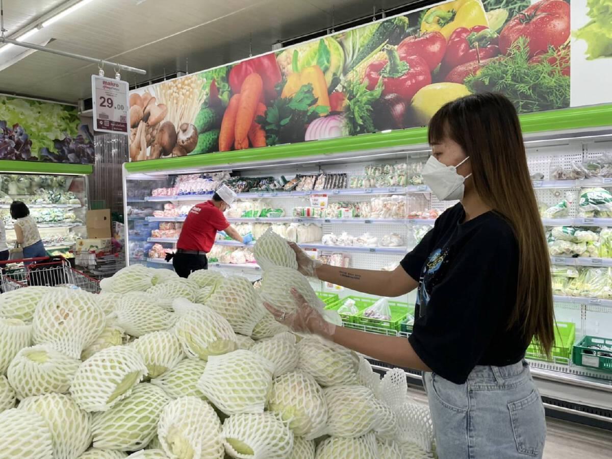 กินเจ 64 แม็คโครเผย 10 อันดับผักขายดี พร้อมจัดโปรช่วยลดค่าครองชีพ