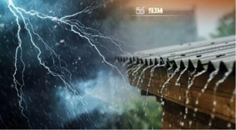 สภาพอากาศวันนี้ ทั่วไทยมีฝนฟ้าคะนอง กทม.ฝนร้อยละ 60 ของพื้นที่