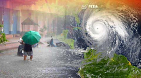 อิทธิพลพายุคมปาซุ- มรสุมซัด กรมอุตุฯเตือนภาคอีสาน-ตะวันออก ฝนถล่ม