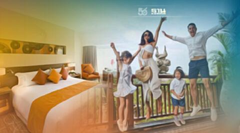 """""""เซ็นทารา""""จัดโปร10.10ดัน 30โรงแรมลดสูงสุด40% รับเราเที่ยวด้วยกันเฟส3"""