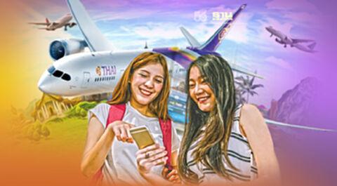 """การบินไทย""""เปิด36เส้นทางบินรับเปิดประเทศ1พ.ย.นี้"""
